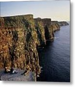 The Cliffs Of Moher, County Clare Metal Print