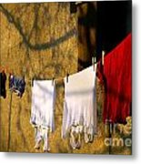 The Clothes Metal Print by Odon Czintos