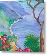 The Coast Of Italy Metal Print