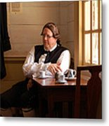 The Colonial Actor Metal Print