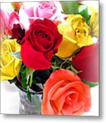 The Color Of A Rose Metal Print