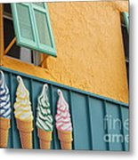 The Color Of Cones Metal Print