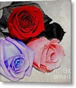 The Color Of My Love Metal Print