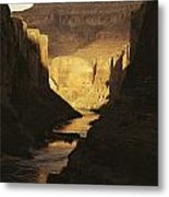 The Colorado River Flows Metal Print