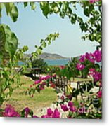 The Colors Of Paros Metal Print
