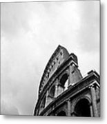 The Colosseum In Rome Metal Print by Steven Gray