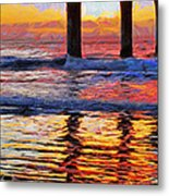 The Colours Of Dawn  Metal Print