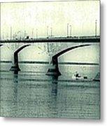 The Confederation Bridge Pei Metal Print