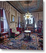 The Copper King's Music Room - Butte Montana Metal Print
