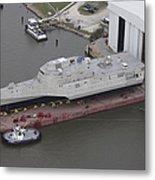 The Coronado Littoral Combat Ship Metal Print