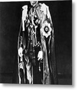 The Coronation Mantle To Be Worn Metal Print by Everett