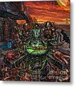 The Creation Of Chaos Metal Print