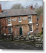 The Crooked House Metal Print