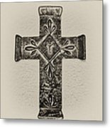The Cross Metal Print by Bill Cannon