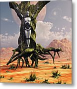 The Crucifixion Of A Messianic Martyr Metal Print by Mark Stevenson