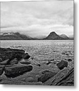 The Cuillin's In The Mist Metal Print