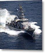 The Cyclone-class Coastal Patrol Ship Metal Print