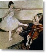 The Dance Lesson Metal Print