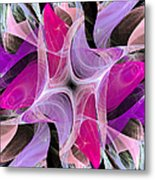 The Dancing Princesses Abstract Metal Print