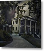 The Dark Plantation Metal Print by James Christopher Hill