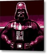 the Dark Side is Strong Metal Print