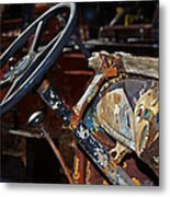 The Dashboard Metal Print