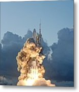 The Dawn Spacecraft Metal Print