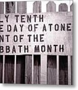 The Day Of Atonement Metal Print