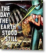The Day The Earth Stood Still, 1951 Metal Print by Everett