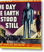 The Day The Earth Stood Still, Lock Metal Print by Everett