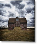 The Devil In Me Said Go Down To The Shed.... Metal Print by Russell Styles
