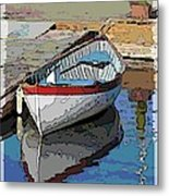 The Dinghy Metal Print