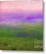 The Distant Hills Metal Print