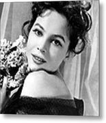 The Doctors Dilemma, Leslie Caron, 1958 Metal Print by Everett