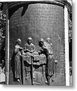 The Dog Monument, Russia Metal Print