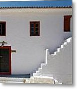 The Door Of The Chappel Metal Print