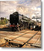 The Duke And The Tornado Metal Print