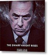 The Dwarf Knight Metal Print