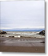 The Edge Of Mother Nature Metal Print