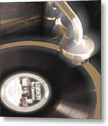 The Edison Record Player Metal Print