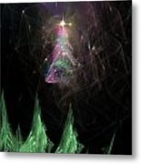 The Egregious Christmas Tree 3 Metal Print