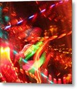 The Electric Cosmos      Nebula Traffic Jam Metal Print by Artist Orange