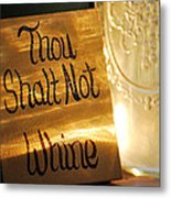 The Eleventh Commandment Metal Print