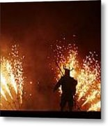 The Emergence Of The Devil Metal Print