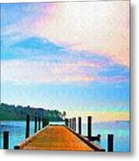 The End Of A Good Day Metal Print