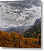 The End Of A Season Metal Print