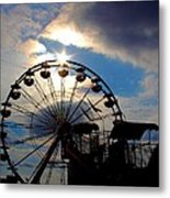 The End Of The Day Metal Print