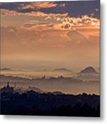 The End Of The Storm Metal Print
