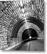 The End Of The Tunnel Metal Print