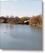 The Erie Canal Crossing The Genesee River Metal Print